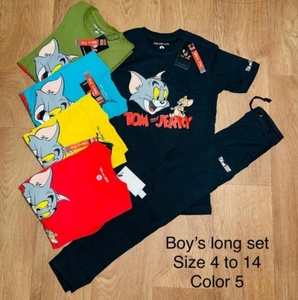 Used Boys long size 4 to 14, 5 colors in Dubai, UAE