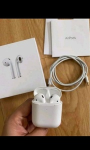 Used APPLE AIRPODS 2 NEW FREE COVER GIFT ❕❕ in Dubai, UAE