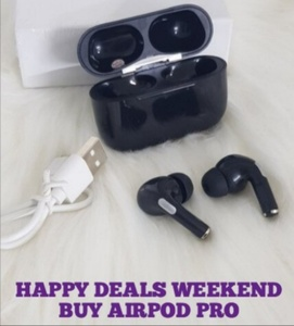 Used Airpod pro sounds good must buy guys in Dubai, UAE