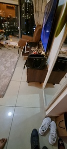Used TV cabinet 160 by 40 cm in Dubai, UAE
