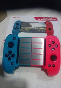 Used Red&blueBluetooth mobile game controller in Dubai, UAE