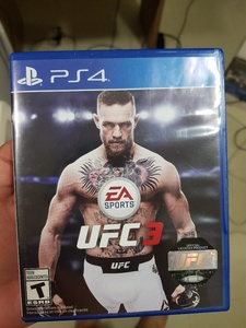 Used UFC 3 PS4 in Dubai, UAE
