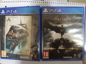 Used Batman Trilogy Set PS4 in Dubai, UAE