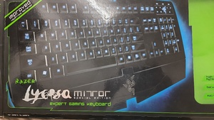 Used Razer Lycosa Gaming keyboard in Dubai, UAE