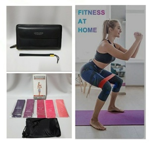 Used Resistance Loop Band with Free Wallet🎁 in Dubai, UAE