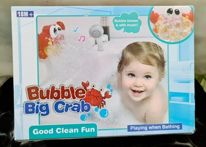 Used Bubble Machine Large red Crab in Dubai, UAE