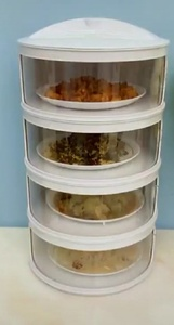 Used Food organizer 4 tier cabinet in Dubai, UAE