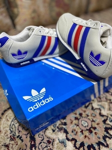 Used Adidas sneaker new box size 36 in Dubai, UAE