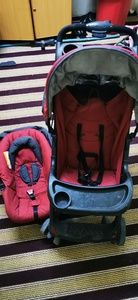 Used Baby stroller juniors with car seat in Dubai, UAE