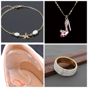 Used 3 beautiful accessories + free 🎁 in Dubai, UAE