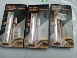Used Automatic Eyebrow Trimmer 3set in Dubai, UAE