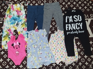 Used Girl bundle clothes in Dubai, UAE
