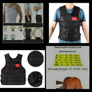 Used Adjustable weighted vest,. in Dubai, UAE