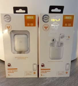 Used Inder IN-08 TWS Wireless Earbuds Airpods in Dubai, UAE