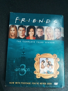 Used Friends  season 3 complete dvd in Dubai, UAE