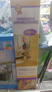 Used Hand Bags and Belts Rack in Dubai, UAE