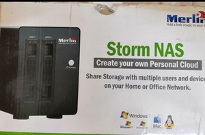 Used Merlin Storm NAS 6000gb storage for 150 in Dubai, UAE