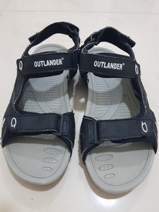Used mens sandal black size42 in Dubai, UAE