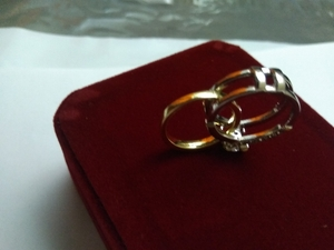 Used interchangeable round cut ring gold in Dubai, UAE