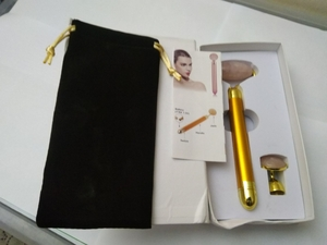 Used 2 in 1 Gold jade beauty bar 24k gold in Dubai, UAE