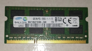 Used PC3 12800S DDR3 1600 MHZ 4GB RAM in Dubai, UAE