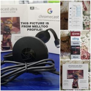 Used CHROMECAST FOR TV BY MELTO NOW NEW!! in Dubai, UAE