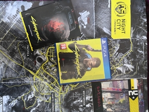 Used Cyberpunk 2077, Ps4 game in Dubai, UAE