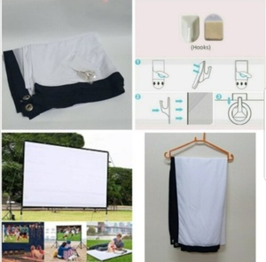Used Portable gain movie screen; in Dubai, UAE