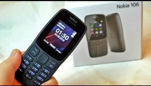 Used NOKIA  106 MODEL BLACK COLOR PHN in Dubai, UAE