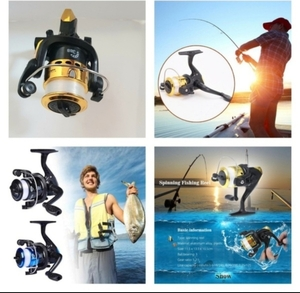 Used Fishing Reel NEW 2 PCS + Gift 🎁 in Dubai, UAE