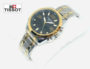 Used Gold/silver metal watch tissot- mens in Dubai, UAE