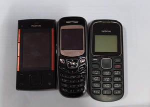 Used mobiles not working 3 items in Dubai, UAE