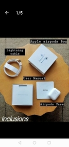 Used APPLE AIRPODS GEN2+FREE GIFT!! 💞💞 in Dubai, UAE