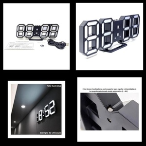 Used Led Digital Clock Wall New in Dubai, UAE