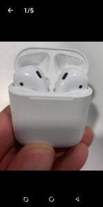 Used APPE AIRPOD 2 .✔️ WIRELESS BEST BUY NOW in Dubai, UAE