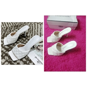Used Brand Deleventh Women slippers high heel in Dubai, UAE
