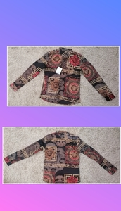 Used Slim fit floral long sleeve in Dubai, UAE