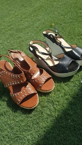 Used Primadona and Max wedge sandals in Dubai, UAE