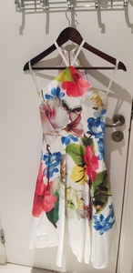 Used Used Sexy floral dress from Ted Baker in Dubai, UAE