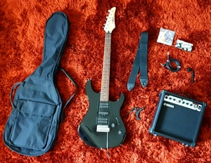 Used Yamaha ERG 121 C Electric Guitar BLACK in Dubai, UAE