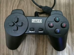 Used Intex Computer Gamepad Double Shock Cont in Dubai, UAE