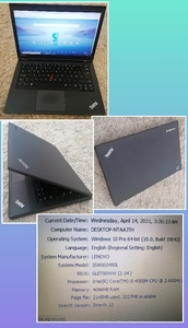 Used Lenovo Laptop i5 series in Dubai, UAE