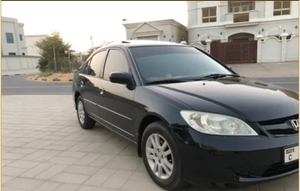 Used Honda civic 2005 sunroof no.1 option in Dubai, UAE