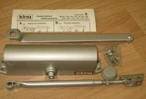 Used King Door Closer Made In Korea 70 series in Dubai, UAE