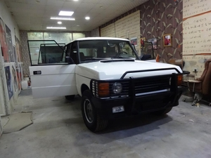 Used Range Rover 1992 model. American Specs in Dubai, UAE