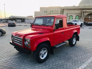 Used Land Rover Defender 1986 model in Dubai, UAE
