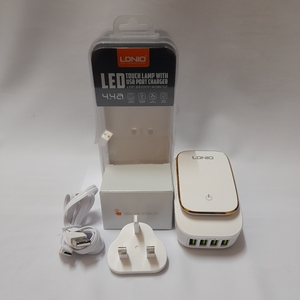 Used 4 Ports Charger with LED Night Lamp in Dubai, UAE