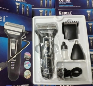 Used KEMEI TRIMMER SHAVER BLADES 3IN 1 in Dubai, UAE
