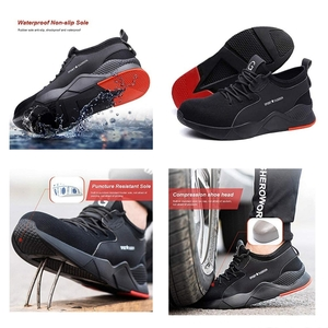 Used Unisex Stab Resistant Safety Shoes NEW in Dubai, UAE