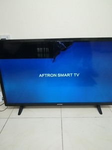 Used Aftron 39 inch Smart TV & BT SoundBar in Dubai, UAE